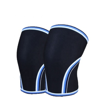 7mm knee sleeve Neoprene Compression Knee Sleeves for Powerlifting Sports fitness leg protector basketball compression sleeve
