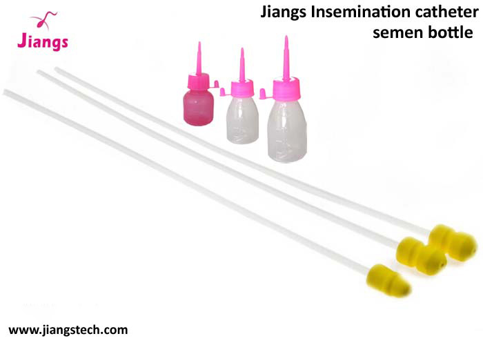 jiangs disposable veterinary instrument semen artifial insemination catheter for pig