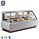Double curved pastry used display refrigerator chiller for cake Chocolate