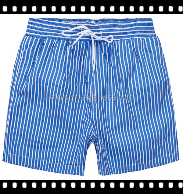 2016 Fashion Men Vertical Stripe New Style Short Pants