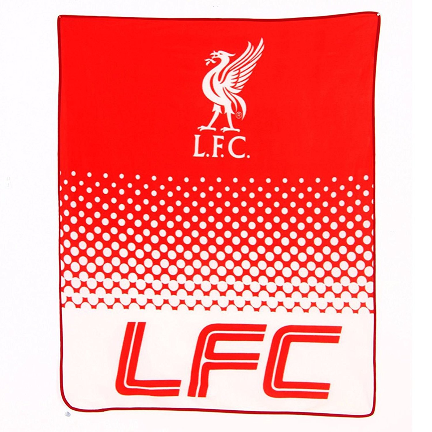 Liverpool FC Fleece Blanket fade Design