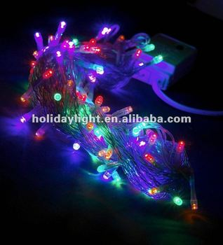 Ce Rohs Outdoor Use 10m 100 Led Multif Color With 8 Function ...