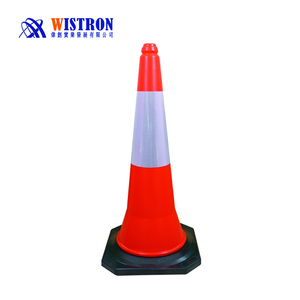 Direct From China Red Color Traffic Cone Road Hazard Pe Traffic Cone