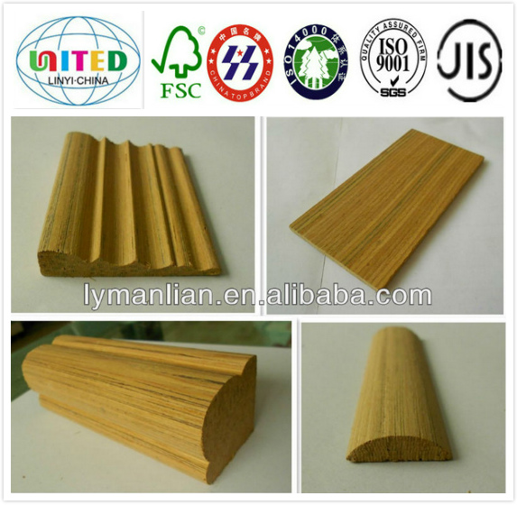 Iraq wood moulding/recon teak margin for picture
