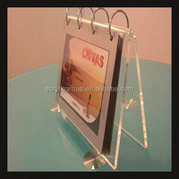 Tabletop Display Acrylic Photo Albums A Shaped Standing Photo Picture Booth