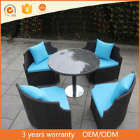 Cheap Royal Round Shaped Wicker Leisure Sofa Garden Furniture Outdoor