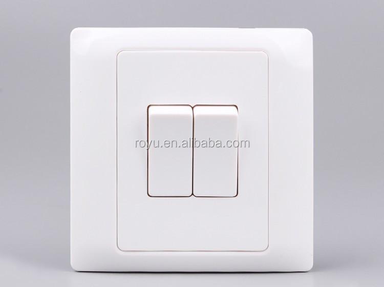 Switch Push Button Two Way Switch, Wall Switch Lamp Switch, House Use Led  Light