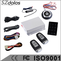 Discounts !!Smart PKE Car Alarm System With Push Button Start/Remote Engine Start RFID keyless entry system