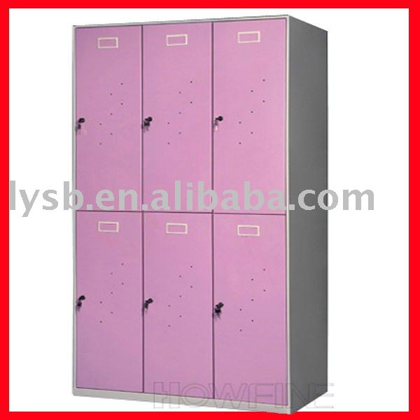 2012 hot sale Office furniture locker cabinet with 6 doors