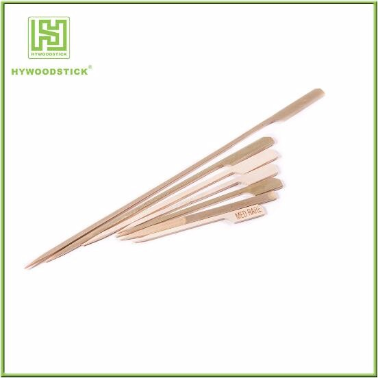 Disposable BBQ Food Bamboo Knot Skewers