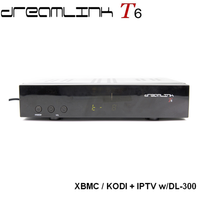 The best receptor fta hd dreamlink t6 <strong>set</strong> <strong>top</strong> box with android XBMC KODI and built in DL-300 HD module for North America