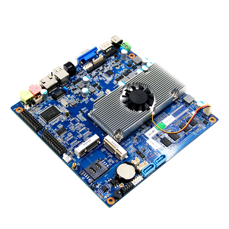 Piesia Top2550 Intel dual core atom N2800 Processor motherboard with RTL8111EL LAN,support RTL/PXE diskless booting