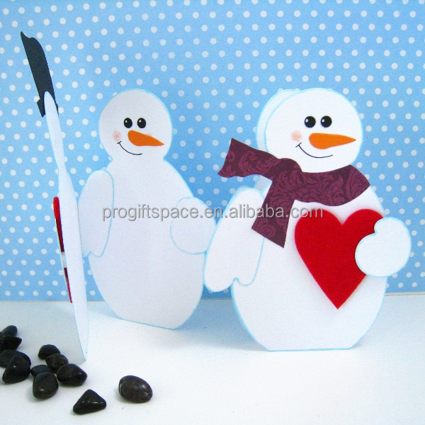 2016 new fashion eco friendly hotsell handmade felt decorative ornaments Merry Christmas winter snowman decoration made in China