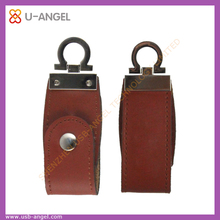 Leather USB Flash Drive Promotional key Pen Drive Special Design 8gb USB Memory