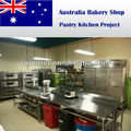 Australia Bakery Shop Pastry Equipment Project
