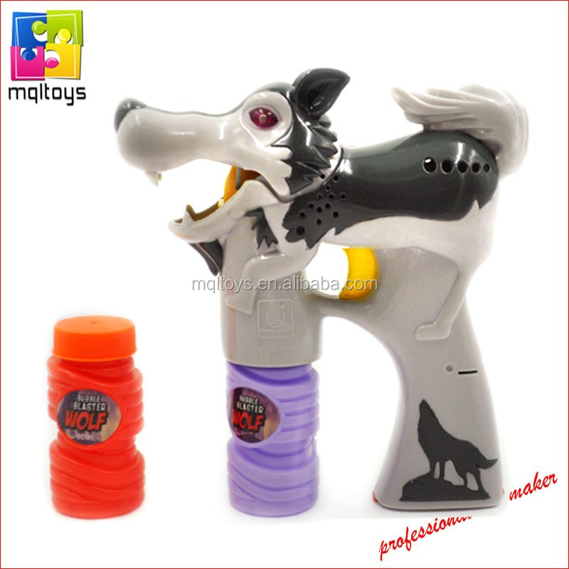 Wolf Bubble Maker 3 Lights Flashing Spray Paint Bubble Gun Toy - Buy Bubble  Toy,Bubble Gun Toy,Bubble Maker Toy Product on Alibaba com