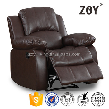 ZOY America style modern fabric single sofa furniture, recliner chair 93930-51