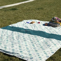 Folding Target Waterproof Picnic Beach Outdoor Blanket for Travel