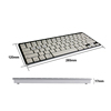 2014 new style airoha bluetooth keyboard mini bluetooth keyboard and mouse for IOS/Windows/Android