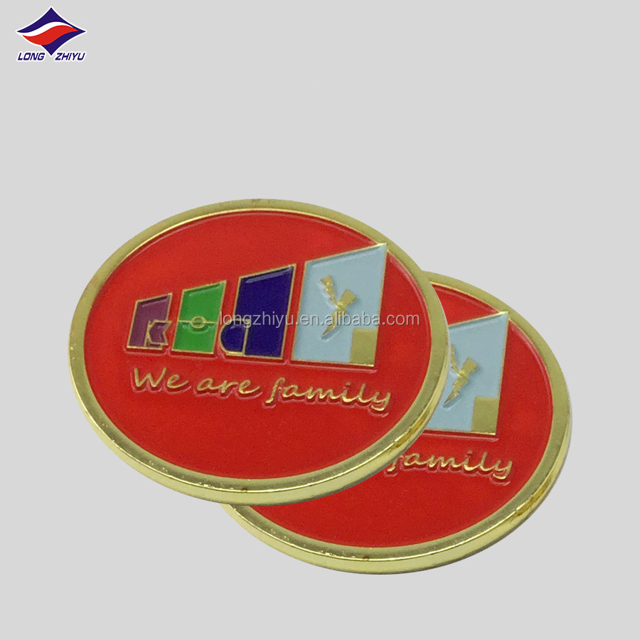 Imitation gold plated Malaysia military custom engrave metal coins,challenge zinc alloy casted medallion badge medal coin maker