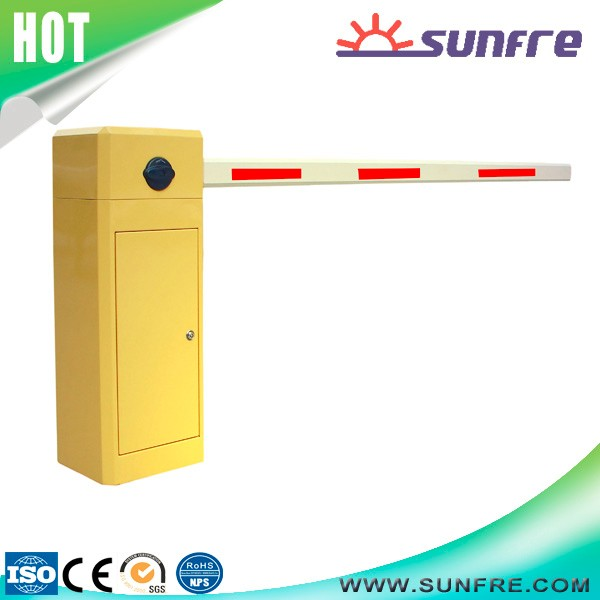 Barrier gate motor with gearbox , remote control parking lot management system