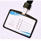 High quality 91*64mm business work name metal ID card holder in wholesale