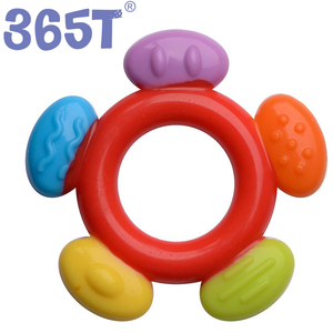2019  Popular Silicone Teething Toys Food Grade Teether for Baby Chewing