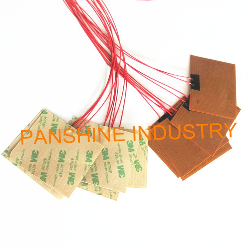 5V battery powered polyimide/kapton film heater