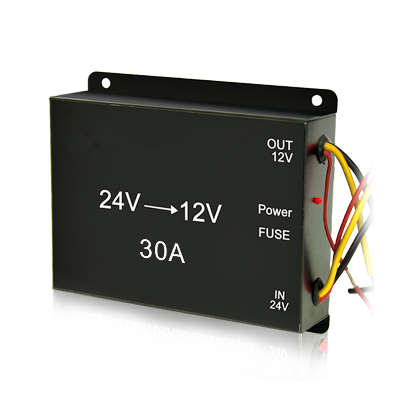 Good quality 30A dc to dc 24 volt 12 volt power converters for car