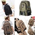 Outdoor Men Vintage Canvas Spot Bag Backpack School Satchel Hiking Bag Outdoor Bags EA14