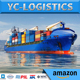 Lowest shipping cost sea shipping freight forwarder China to Budapest