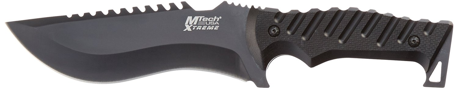 """MTECH USA XTREME MX-8119 Fixed Blade Tactical Knife, 11.5"""" Overall"""