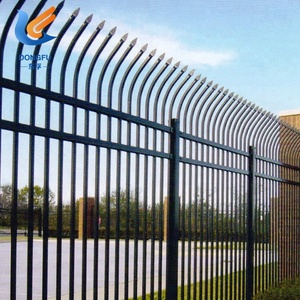 Best Price Security Zinc Steel Fence For Sale