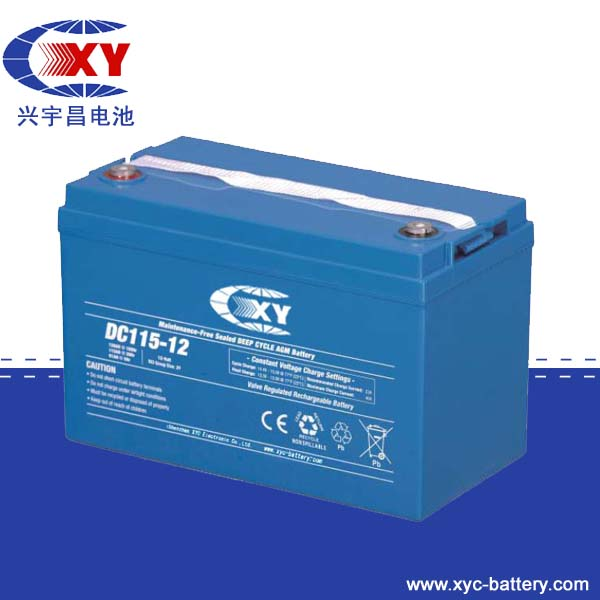 Battery for 12 V 100 Ah Deep Cycle AGM RV Group 27