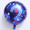 hot sale high quality round shape happy birthday balloon for kids party