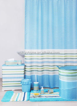 Fancy Design Bathroom Sets / Shower Curtain With Matching Set