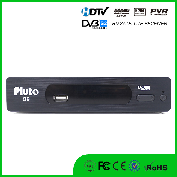 Vmade Hot selling HD TV box DVB-S2 Pluto S9 M3 IPTV Ethernet