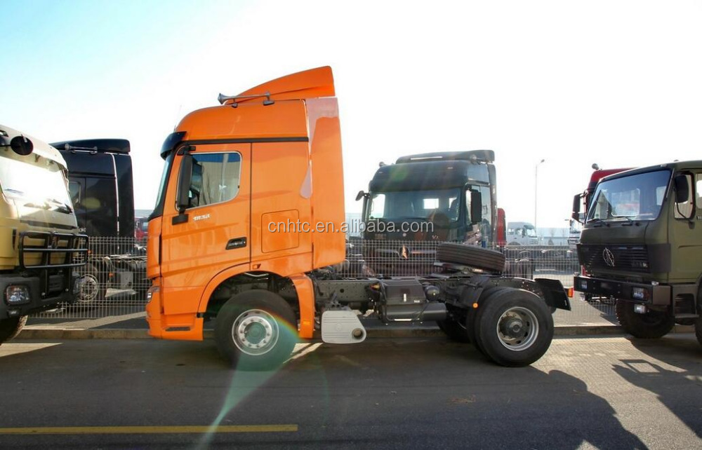 Good Selling BEIBEN 6 Wheels Series Heavy Tractor Truck For Long Distance Transport