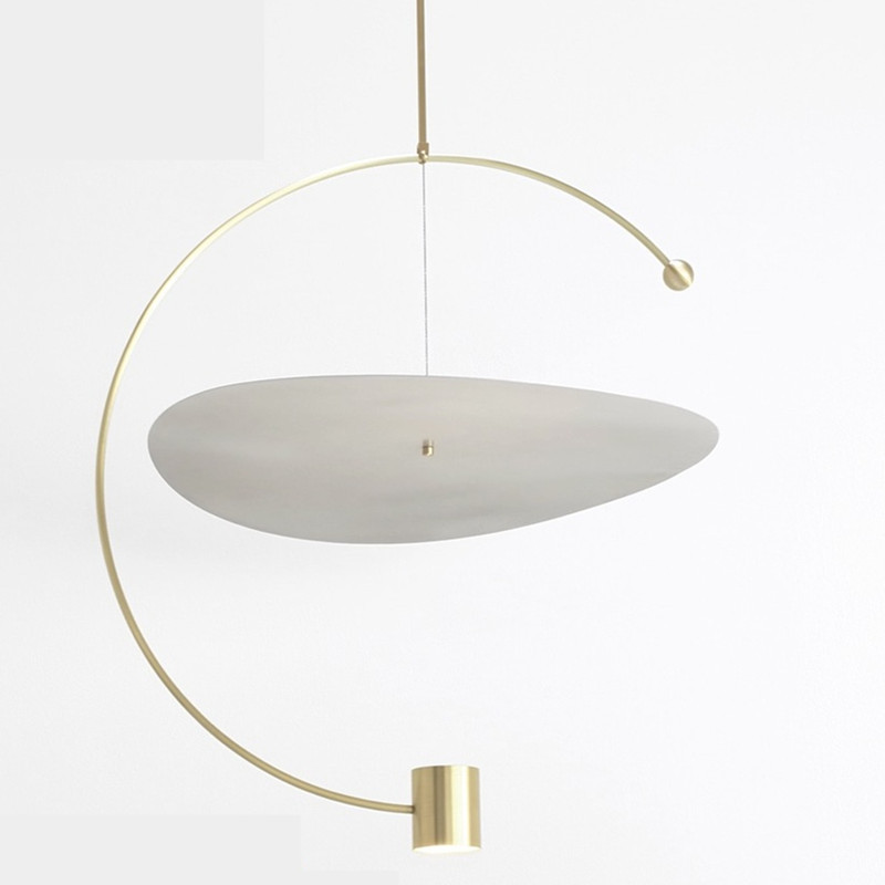 Acrylic circular led chandelier lighting <strong>modern</strong>