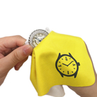 Lint Free Custom Logo Printed Microfiber Watch Cleaning Cloth