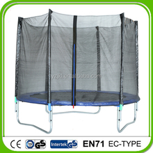10FT Garden Cheap Outdoor Trampoline With Safety Net For Kids