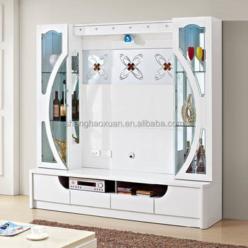 2016 Home Furniture Tv Stand Wall Unit Designs