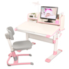 Istudy ergonomic children table kids study desk with storage cabinet HYA07