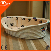 Handmade pet house traditional china dog bed wicker bed for dogs