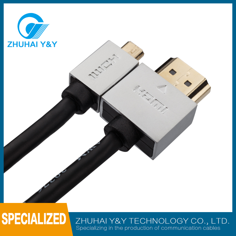 High speed to net 1080p audio HDMI cable