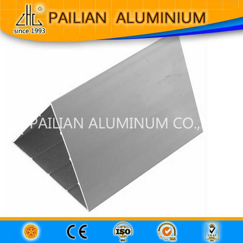 Anatolia 2016 aluminium triangle extrusion profile type of aluminium profile triangle hollow tube aluminum profiles price