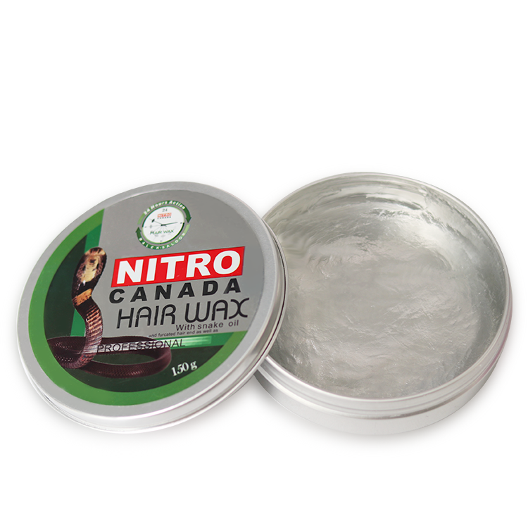 OEM China Haar Dye Hersteller Private Label Mode Styling Starke Gold Glanz Pomade Haar Clear Farbe Wachs