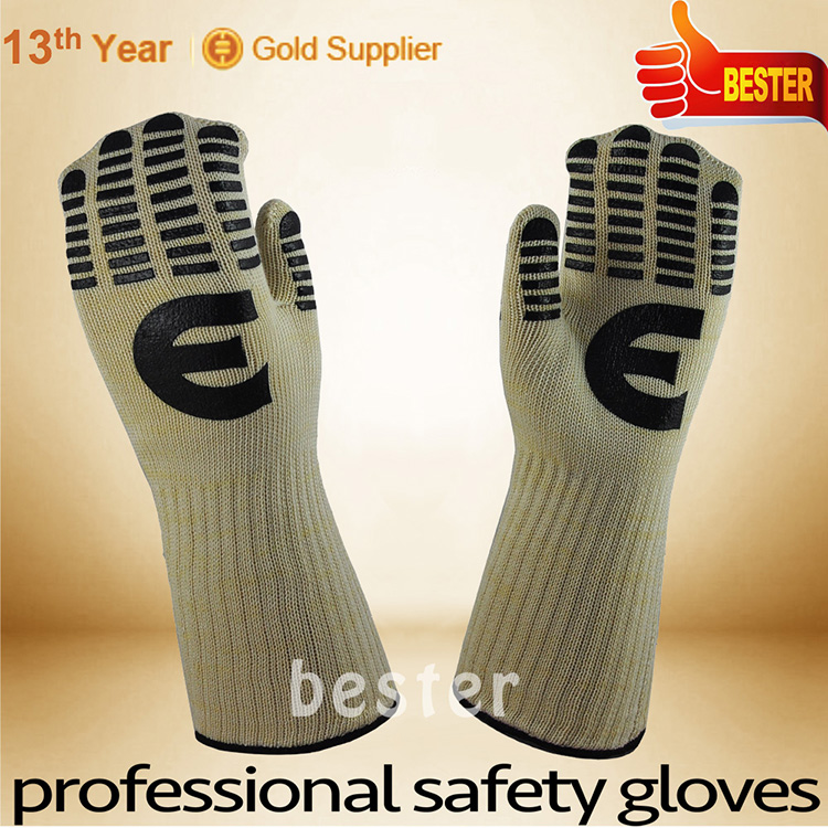 Newest High-ranking 350 c heat resistant gloves