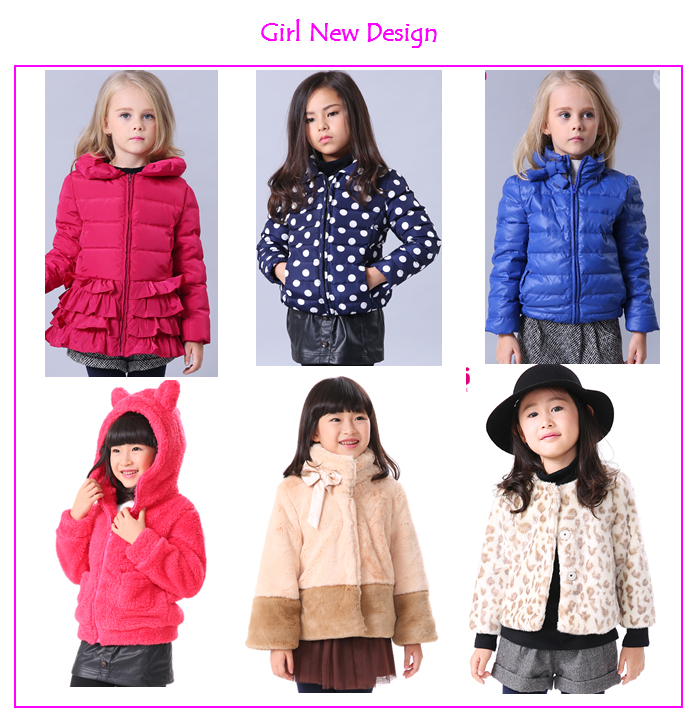 Children Clothes Import Pretty Kids Girls Cashmere Woolen Coat ...