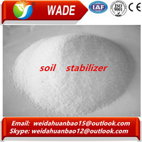 WADE ISO9001 Certification supply soil stabilizer / superior quality road building soil stability agent in powder
